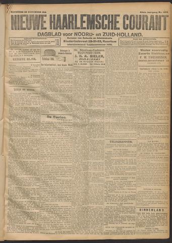 Nieuwe Haarlemsche Courant 1914-11-28