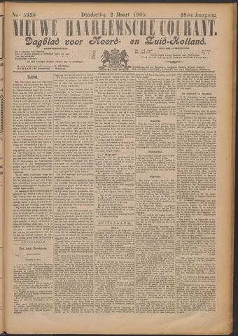 Nieuwe Haarlemsche Courant 1905-03-02