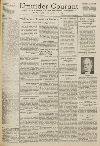 IJmuider Courant 1939-05-30