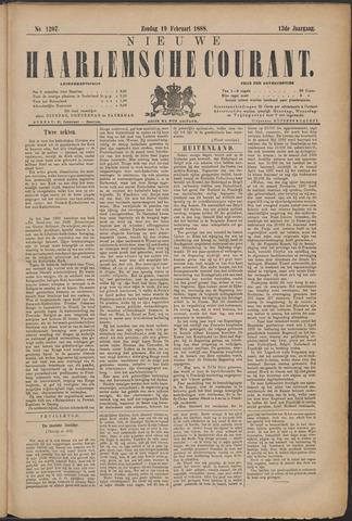 Nieuwe Haarlemsche Courant 1888-02-19