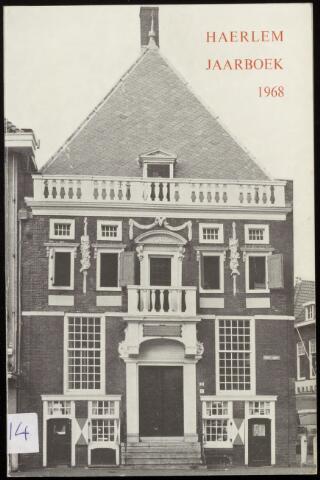 Jaarverslagen en Jaarboeken Vereniging Haerlem 1968