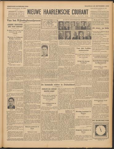 Nieuwe Haarlemsche Courant 1933-09-25