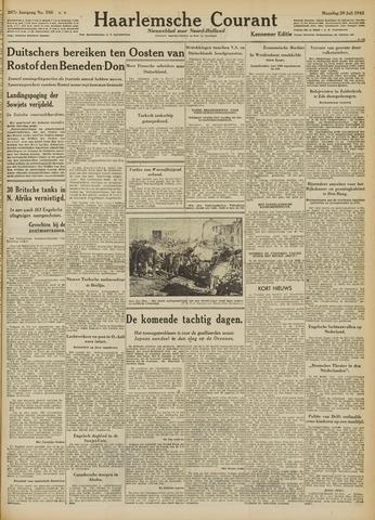Haarlemsche Courant 1942-07-20