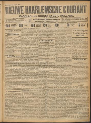 Nieuwe Haarlemsche Courant 1914-04-16