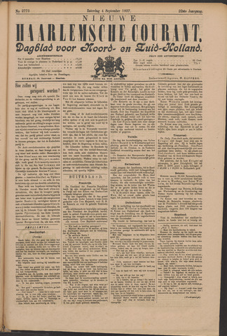 Nieuwe Haarlemsche Courant 1897-09-04