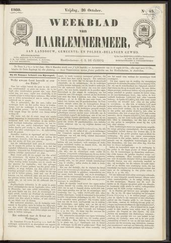 Weekblad van Haarlemmermeer 1860-10-26