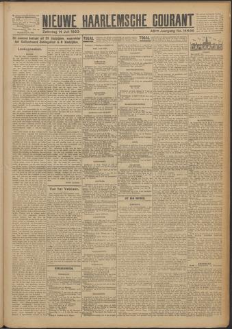 Nieuwe Haarlemsche Courant 1923-07-14