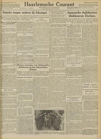 Haarlemsche Courant 1942-06-11