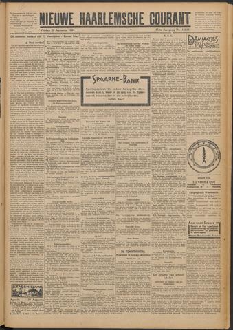 Nieuwe Haarlemsche Courant 1924-08-29