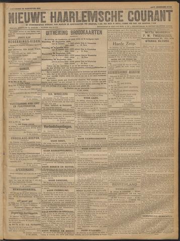 Nieuwe Haarlemsche Courant 1918-08-24