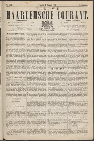 Nieuwe Haarlemsche Courant 1883-01-07