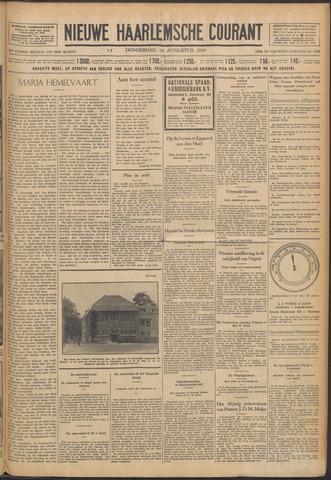 Nieuwe Haarlemsche Courant 1930-08-14