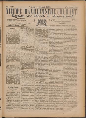Nieuwe Haarlemsche Courant 1904