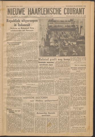 Nieuwe Haarlemsche Courant 1945-09-26