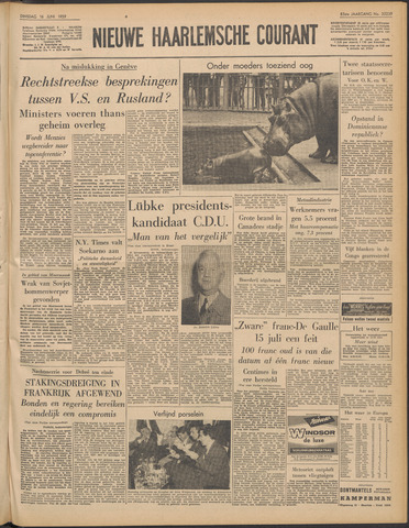 Nieuwe Haarlemsche Courant 1959-06-16