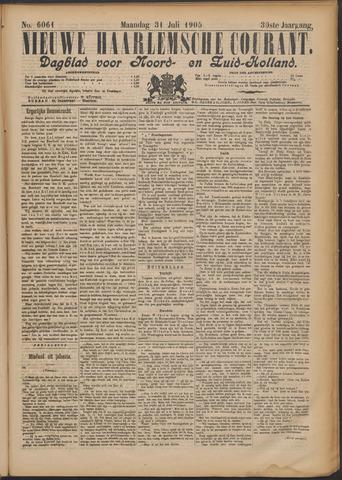Nieuwe Haarlemsche Courant 1905-07-31