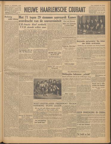 Nieuwe Haarlemsche Courant 1949-12-09