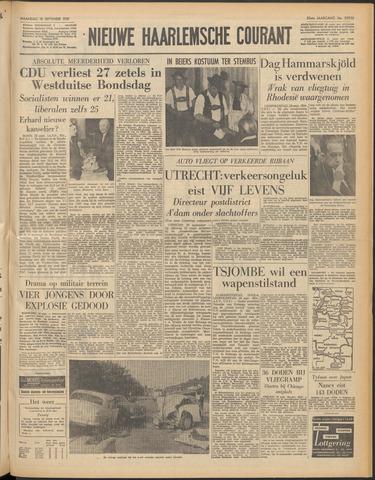 Nieuwe Haarlemsche Courant 1961-09-18