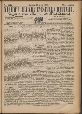Nieuwe Haarlemsche Courant 1905-06-13