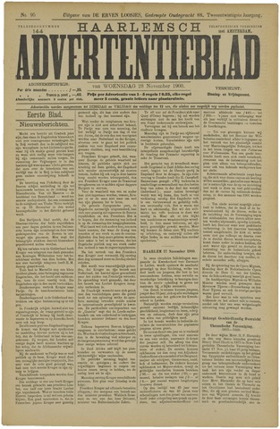 Haarlemsch Advertentieblad 1900-11-28