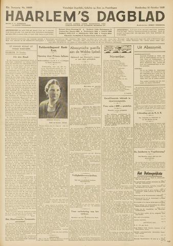 Haarlem's Dagblad 1935-10-31