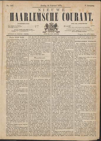 Nieuwe Haarlemsche Courant 1878-02-24
