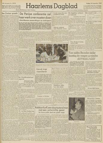 Haarlem's Dagblad 1947-09-12