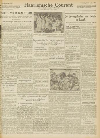 Haarlemsche Courant 1942-11-20