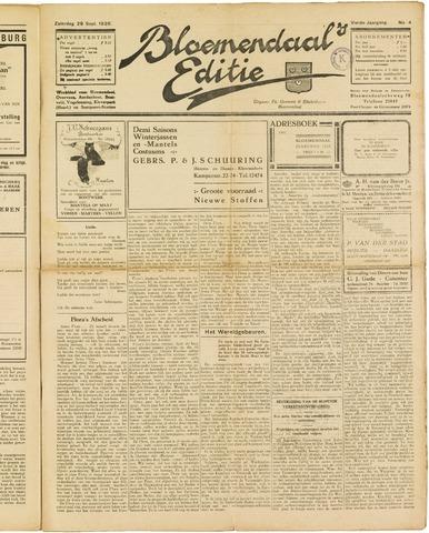Bloemendaal's Editie 1928-09-29