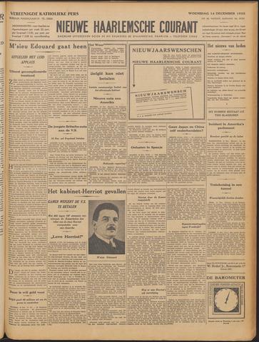 Nieuwe Haarlemsche Courant 1932-12-14