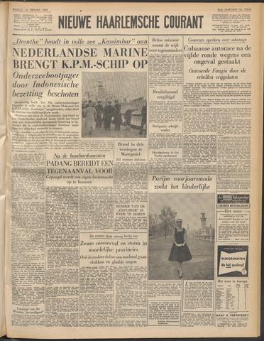 Nieuwe Haarlemsche Courant 1958-02-25