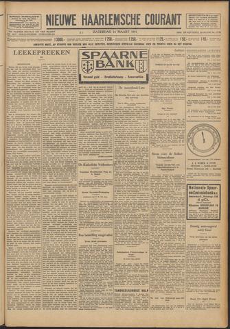 Nieuwe Haarlemsche Courant 1931-03-14