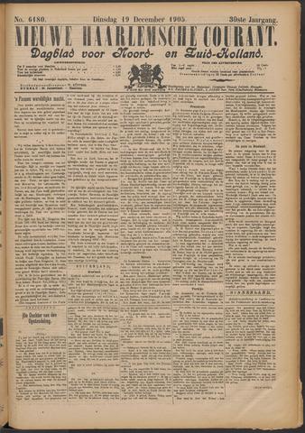 Nieuwe Haarlemsche Courant 1905-12-19