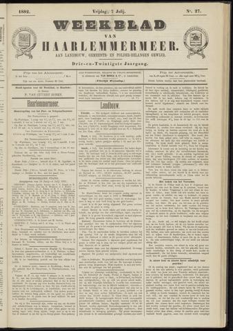 Weekblad van Haarlemmermeer 1882-07-07