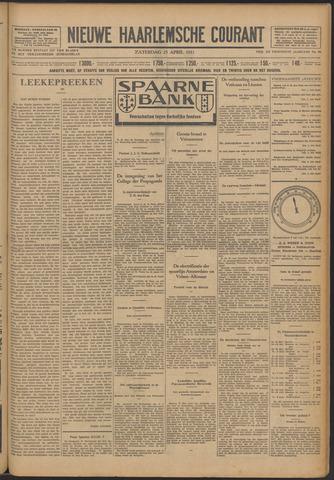 Nieuwe Haarlemsche Courant 1931-04-25