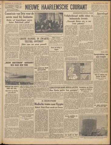 Nieuwe Haarlemsche Courant 1947-10-30