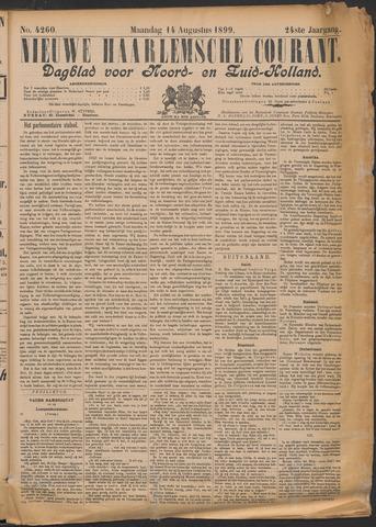 Nieuwe Haarlemsche Courant 1899-08-14