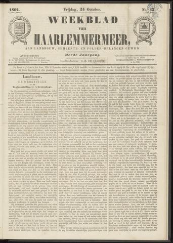 Weekblad van Haarlemmermeer 1862-10-24