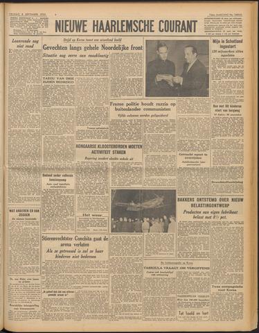 Nieuwe Haarlemsche Courant 1950-09-08