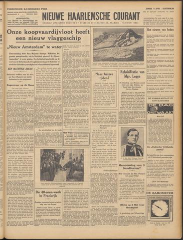 Nieuwe Haarlemsche Courant 1937-04-11