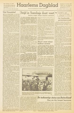 Haarlem's Dagblad 1945-11-12