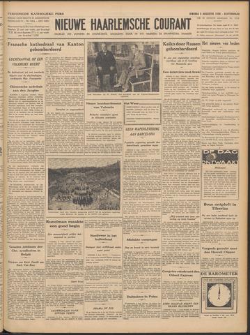 Nieuwe Haarlemsche Courant 1938-08-09