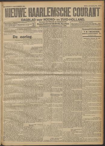 Nieuwe Haarlemsche Courant 1914-09-14