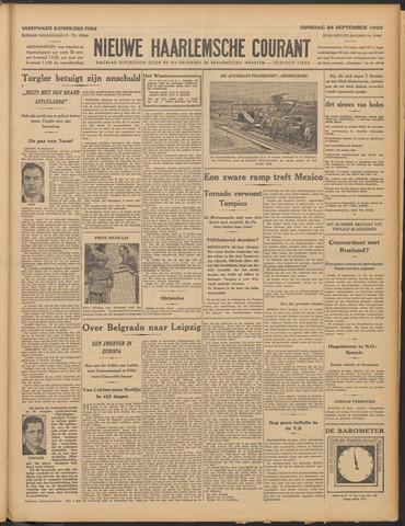 Nieuwe Haarlemsche Courant 1933-09-26