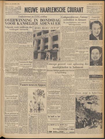 Nieuwe Haarlemsche Courant 1952-11-28