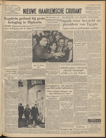 Nieuwe Haarlemsche Courant 1954-03-01