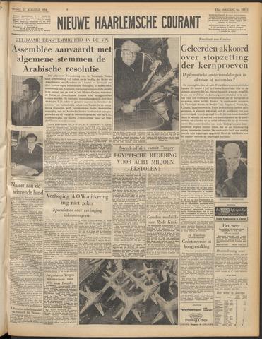 Nieuwe Haarlemsche Courant 1958-08-22