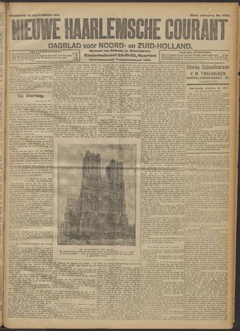 Nieuwe Haarlemsche Courant 1914-09-23