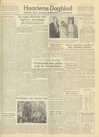 Haarlem's Dagblad 1954-11-17