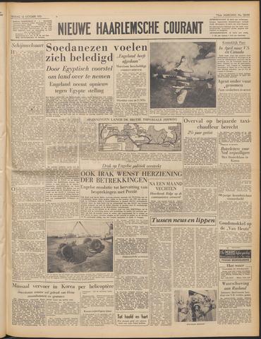 Nieuwe Haarlemsche Courant 1951-10-12